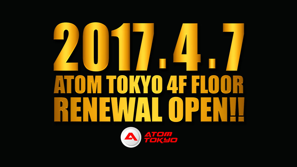 4F FLOOR RENEWAL OPEN!!